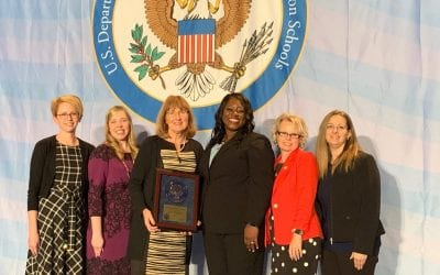 NCA is Presented with National Blue Ribbon Award in Washington DC